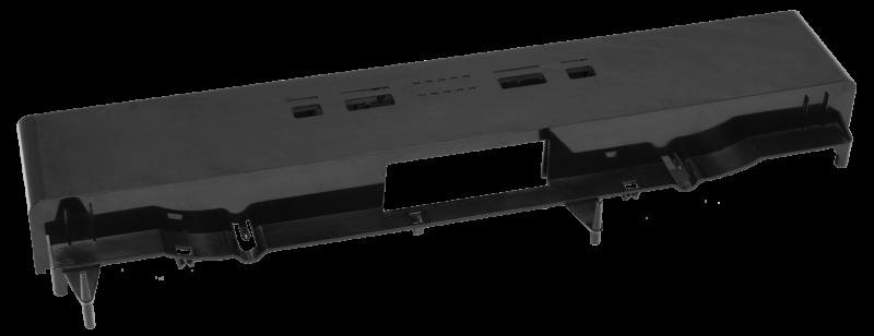 Front dishwasher panel